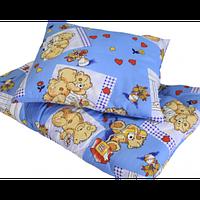 """Детский комплект одеяло (140*110) и подушка (50*45) """"Холлофайбер"""""""