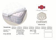 """Наматрасник 190*160 """"Cotton на резинке по углам"""