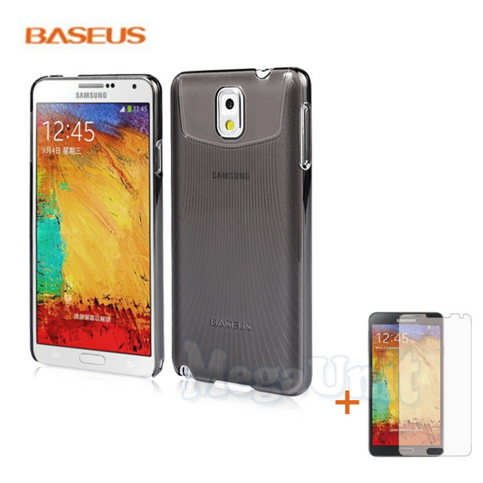 Baseus Ultra-thin Case Чехол (+пленка) для Samsung Galaxy Note 3 (n9000)