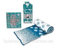 Вязаный шарф и новогодняя открытка в корпоративном стиле, фото 1