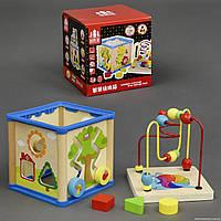 Деревянная игрушка Лабиринт 555-166 (24) в коробке