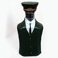 Декор бутылки «Настоящий полковник» Подарок папе на 23 февраля Военные сувениры