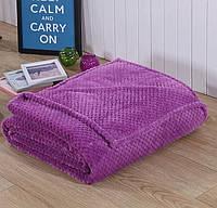 Бамбуковая простынь (180*220 см) Фиолетовая.