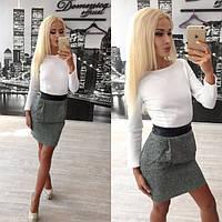 Модное деловое платье Suzan s-31PL621