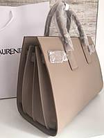 Классическая женская сумка SAINT LAURENT Sac de Jour беж, фото 1