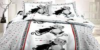 Постельное белье Коты евро Bedding collection, фото 1