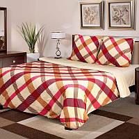 """Постельное белье """"Маделин"""" на двуспальную кровать евро размера"""