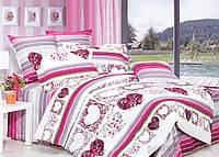 """Постельное белье """"Валентинка"""" Premium на двуспальную кровать"""