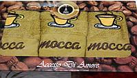 "Набор кухонных полотенец  ""Coffe & mocca"" 3 шт. размер 40х60"