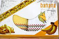 """Набор  полотенец для кухни  """"Райские фрукты"""" банан 2шт. размер 40*60"""