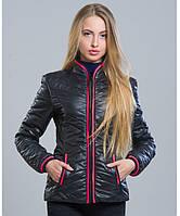 Куртка осень - 7 черный р.42-48