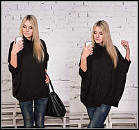 Стильный свободный женский свитер в цветах o-9KF282