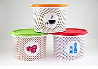 "Набор ёмкостей ""Соль+Сахар+Кофе"" (1,1 л), Tupperware"