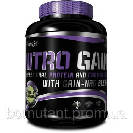 Nitro Gain 2,27 кг клубника BioTech