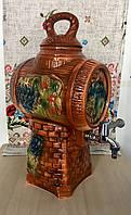 Керамический бочонок для вина, фото 1