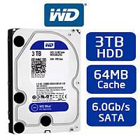 Жесткий диск Western Digital Blue 3TB 5400rpm 64MB WD30EZRZ 3.5 SATAIII
