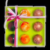 Подарочный набор из 9 конфет ручной роботы.