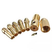 Цанговый патрон с набором цанг вал 3 мм, фото 1