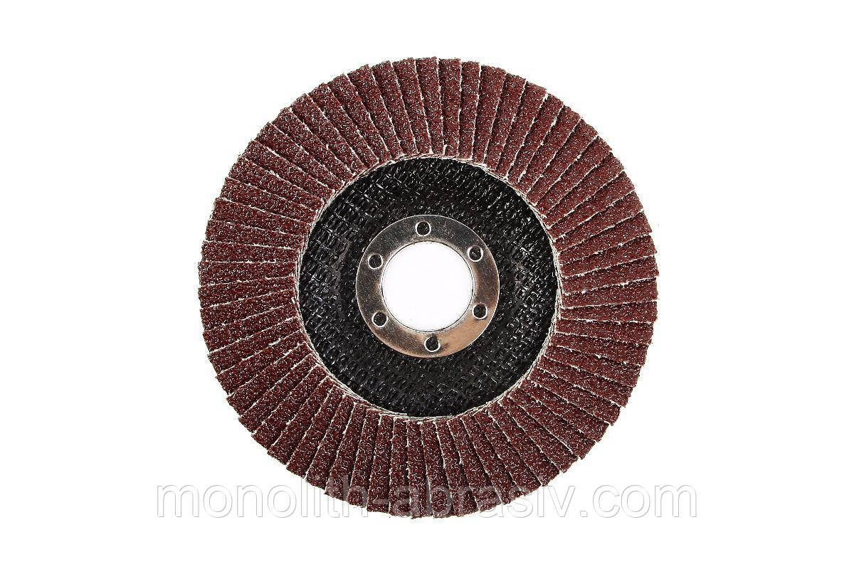 Круг лепестковый торцевой (цирконий) 2 125х22   ZA  Р40,60,80,100,120 RinG
