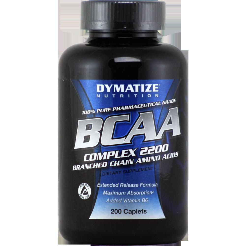 Dymatize BCAA Complex 2200 200 caplets, Диматайз БЦА Комплекс 2200 200 каплет