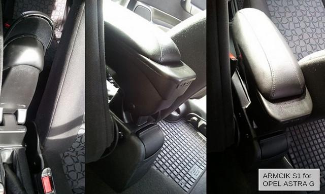 ARS1OPCIK00851  Armcik S1 armrest Opel Astra G 1998-2009