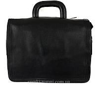 Горизонтальная сумка из эко кожи под документы формата А4