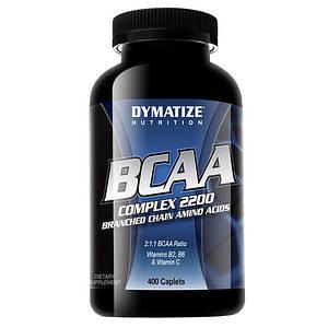 Dymatize BCAA Complex 2200 400 caplets, Диматайз БЦА Комплекс 2200 400 каплет