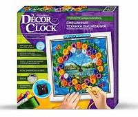"""Набор для творчества """"Decor Clock"""" """"Маргаритки"""" кор. 32,5х32,5х4 см."""
