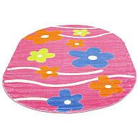 Цветочный коврик в детскую 240*340 см