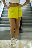 Летняя короткая юбка-шорты в разных расцветках n-10JU111