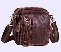 Доротная кожаная сумка для мужчин