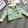 Женская короткая курточка-парка (демисезон), фото 6