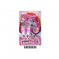 Детский набор парикмахерский YF745-3 обувь, фен, зеркало