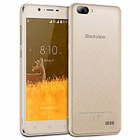 Смартфон Blackview A7 Gold 1/8 gb MT6580А 2800 мАч, фото 1