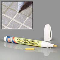 Карандаш для отбеливания межплиточных швов Grout Aide & Tile Marker, маркер-затирка
