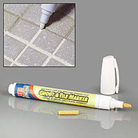 Карандаш для отбеливания межплиточных швов Grout Aide & Tile Marker, маркер-затирка, фото 1