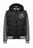 Утепленная куртка-трансформер для мальчика Faberlic Street couture, цвет черный, р. 104