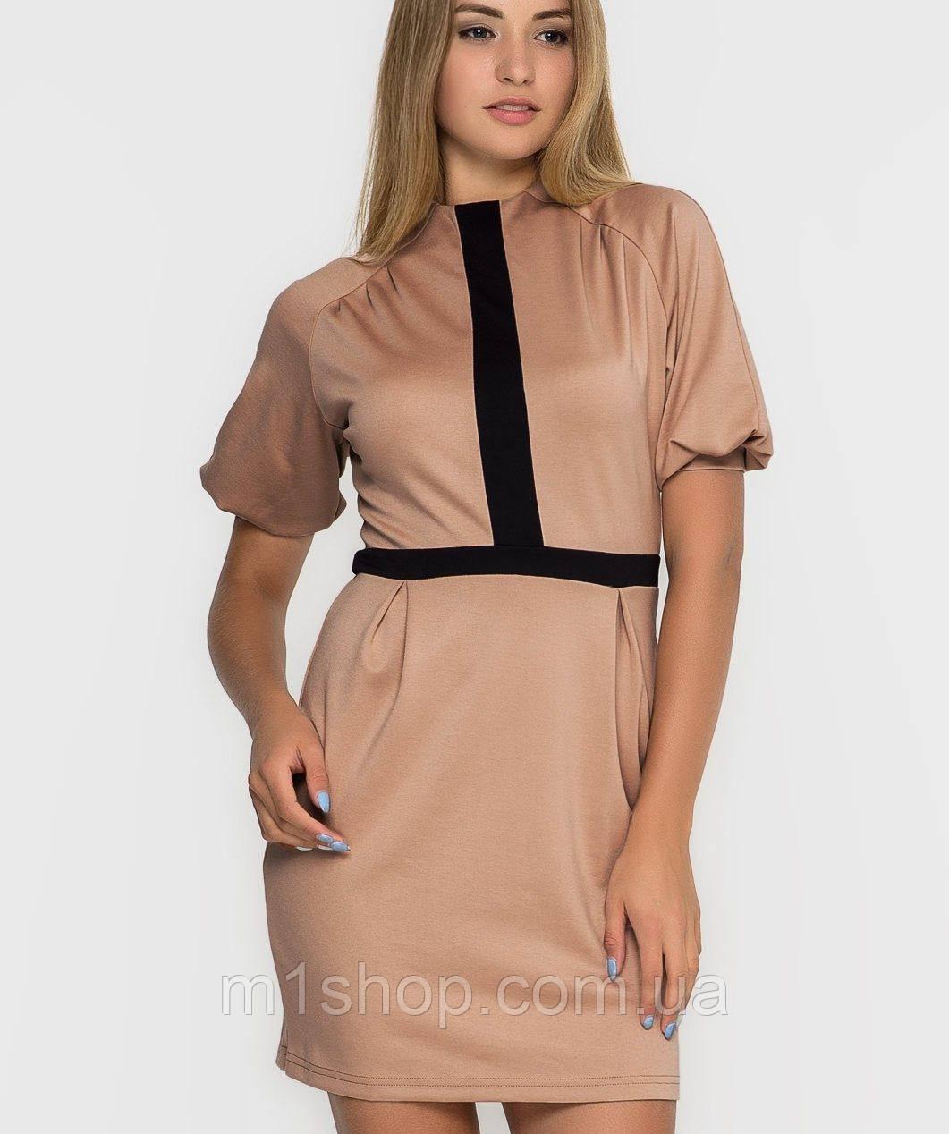 Женское платье с рукавом фонарик (2155 sk)