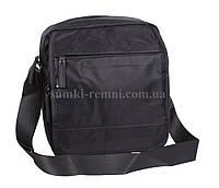Вместительная мужская сумка из прочного текстиля