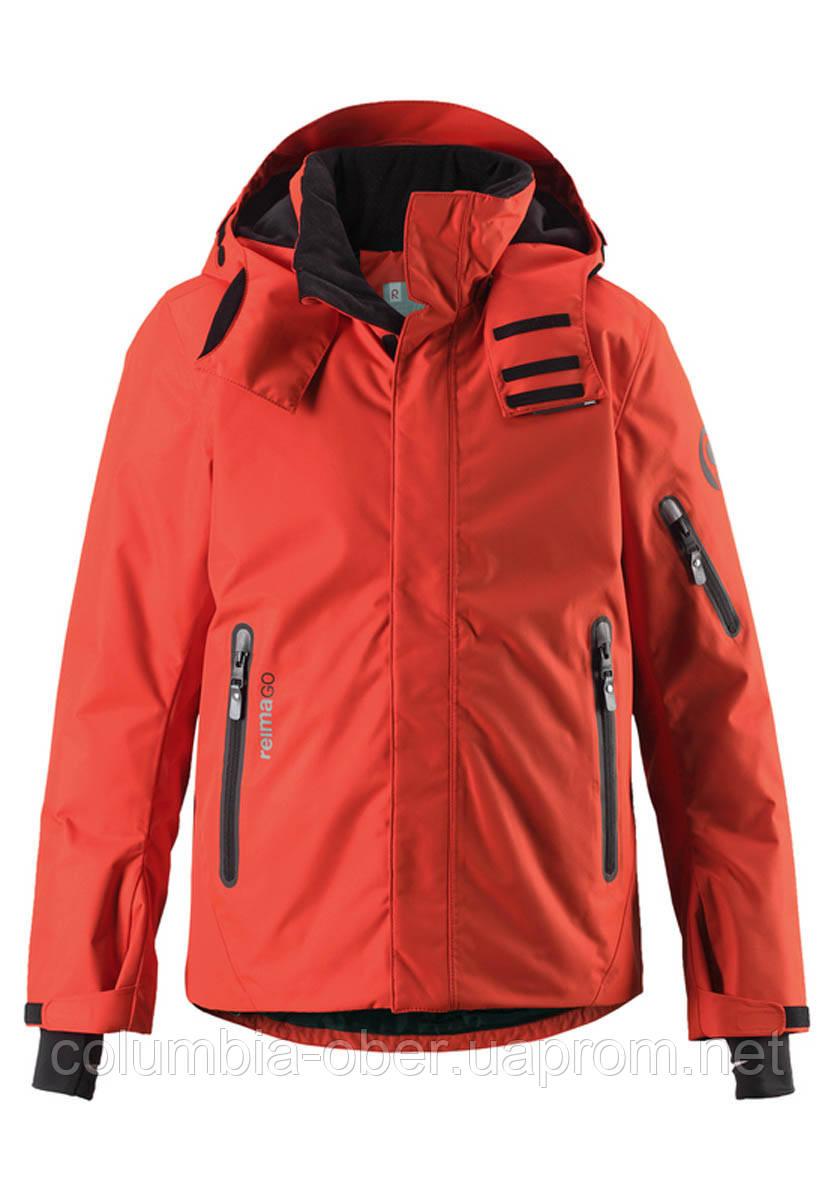 Зимняя куртка для мальчиков ReimaТЕС Wheeler 531309A - 3710. Размеры 128 - 164.