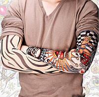 Тату рукав, имитация татуировки для рук, рукав с рисункам