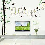 Интерьерная наклейка на стену Дерево и рамки (SK2007W), фото 3