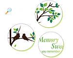 Интерьерная наклейка на стену Дерево и рамки (SK2007W), фото 6