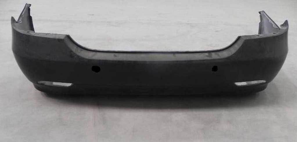 Задний бампер BYD F3 05-13 черный (FPS) 17080200F3004