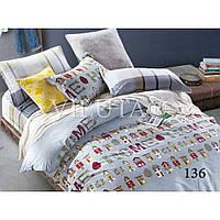 Подростковое постельное белье Viluta сатин хлопок 100% арт. 136