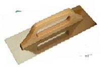 Терка нержавіюча 130 х 380мм, дерев'яна ручка