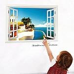 Интерьерная наклейка на стену Вид на океан, фото 2
