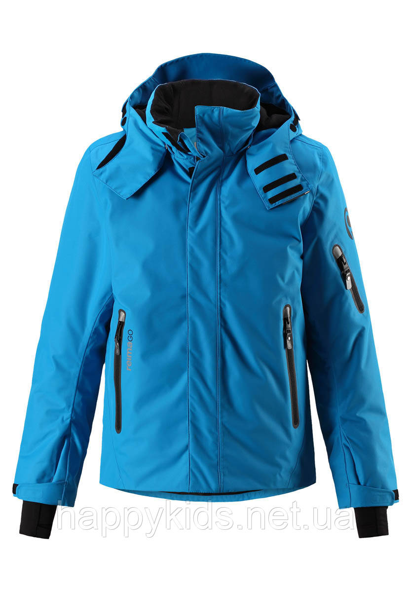 Зимняя куртка для мальчиков ReimaТЕС Wheeler 531309A - 6490. Размеры 128 - 146.