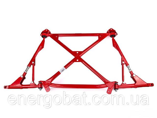 Установка подрамника и треугольных рычагов на ВАЗ 2108