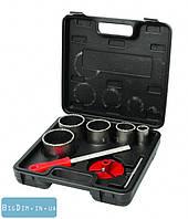 Набор корончатых сверл для плитки MasterTool 2-08-005